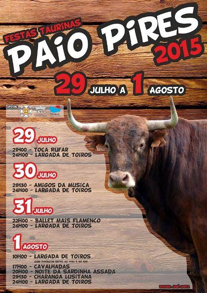 Paio Pires(Seixal)- Festas Taurinas 2015