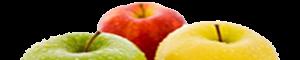 divisória maçã