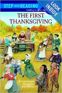 http://www.amazon.com/The-First-Thanksgiving-Step-Into-Reading-Step/dp/0679802185