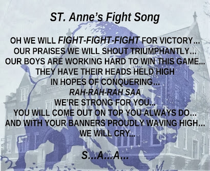 St. Anne's Fight Song with MUSIC