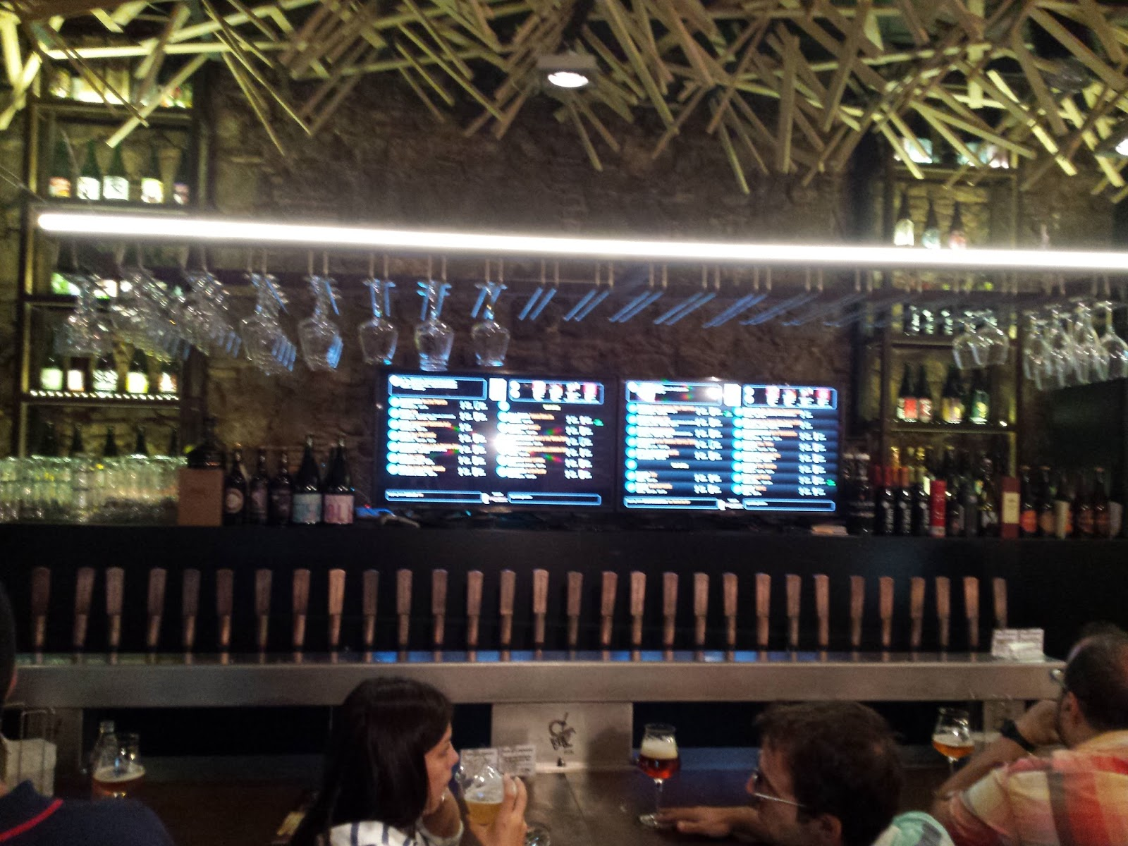 Berebirra: barcellona: biercab e beer garage