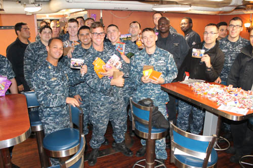 Thank You from the USS Cape St. George