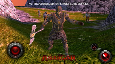 Download Game World Of Anargor 3D RPG v1.0 APK + DATA Android gratis