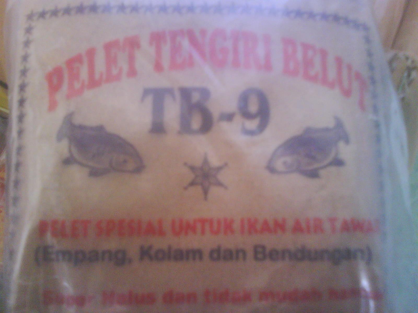 "Gambar / foto pelet umpan mancing ikan ""Tengiri Belut / TB9"" - STELLA ..."