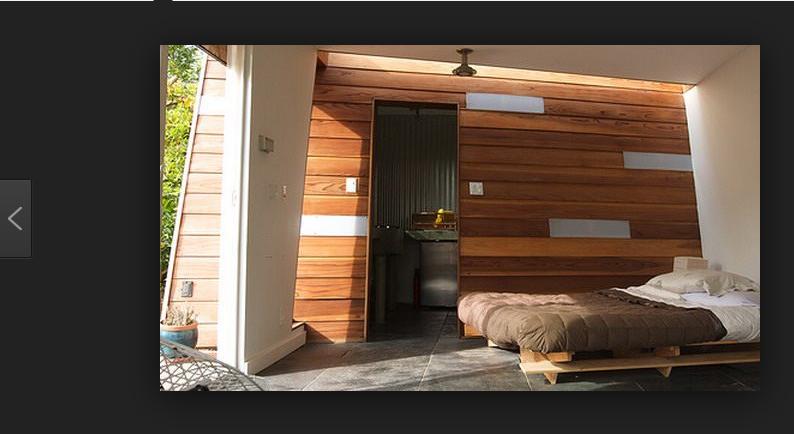 contoh dinding rumah dari bahan kayu ulin dan jati