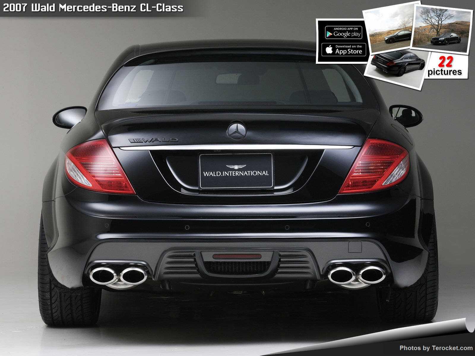 Hình ảnh xe độ Wald Mercedes-Benz CL-Class 2007 & nội ngoại thất