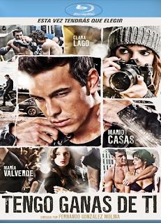 Carátula Tengo ganas de ti película HD 1080p castellano 2012