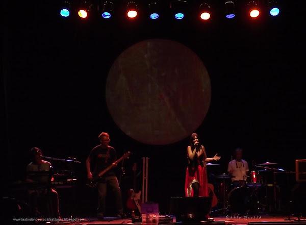 Fabiana Cantilo en Bahía