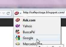 Colocar Google como página inicial