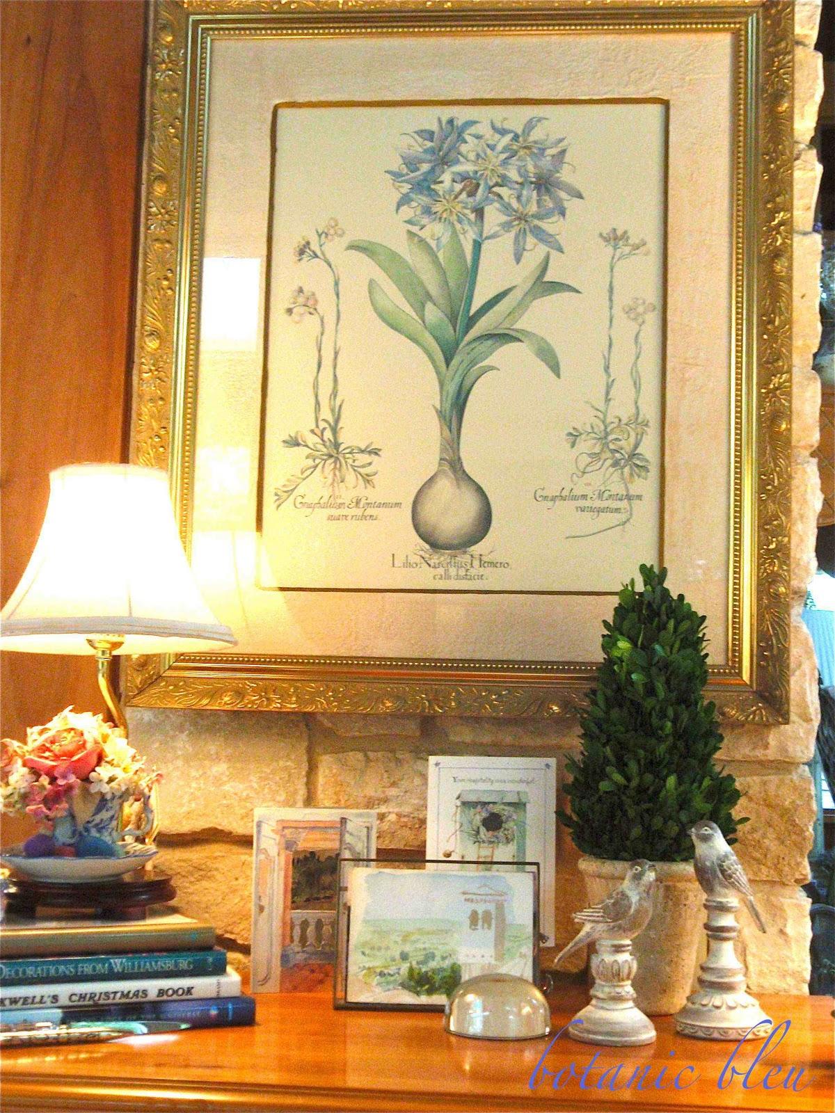 botanic bleu vignette design series 2 theme. Black Bedroom Furniture Sets. Home Design Ideas