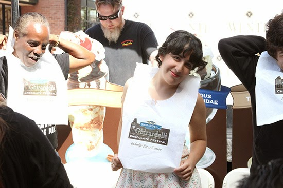 Ghirardelli Ice Cream Eating Contest