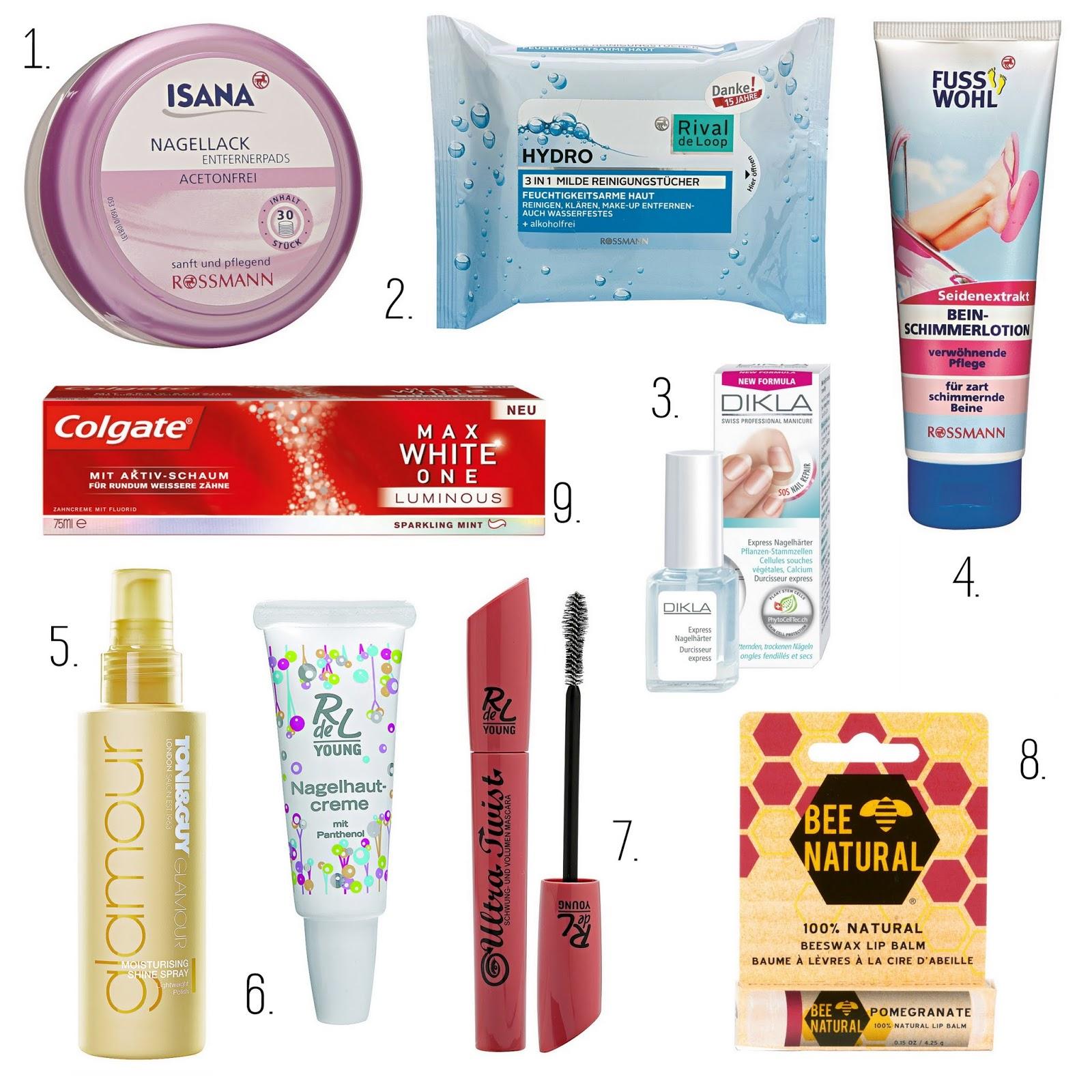Rossmann sfm Beautybox April Inhalt Produkte Details