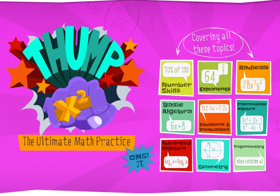 Math problem solving games