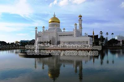 Tò mò đi du lịch Brunei
