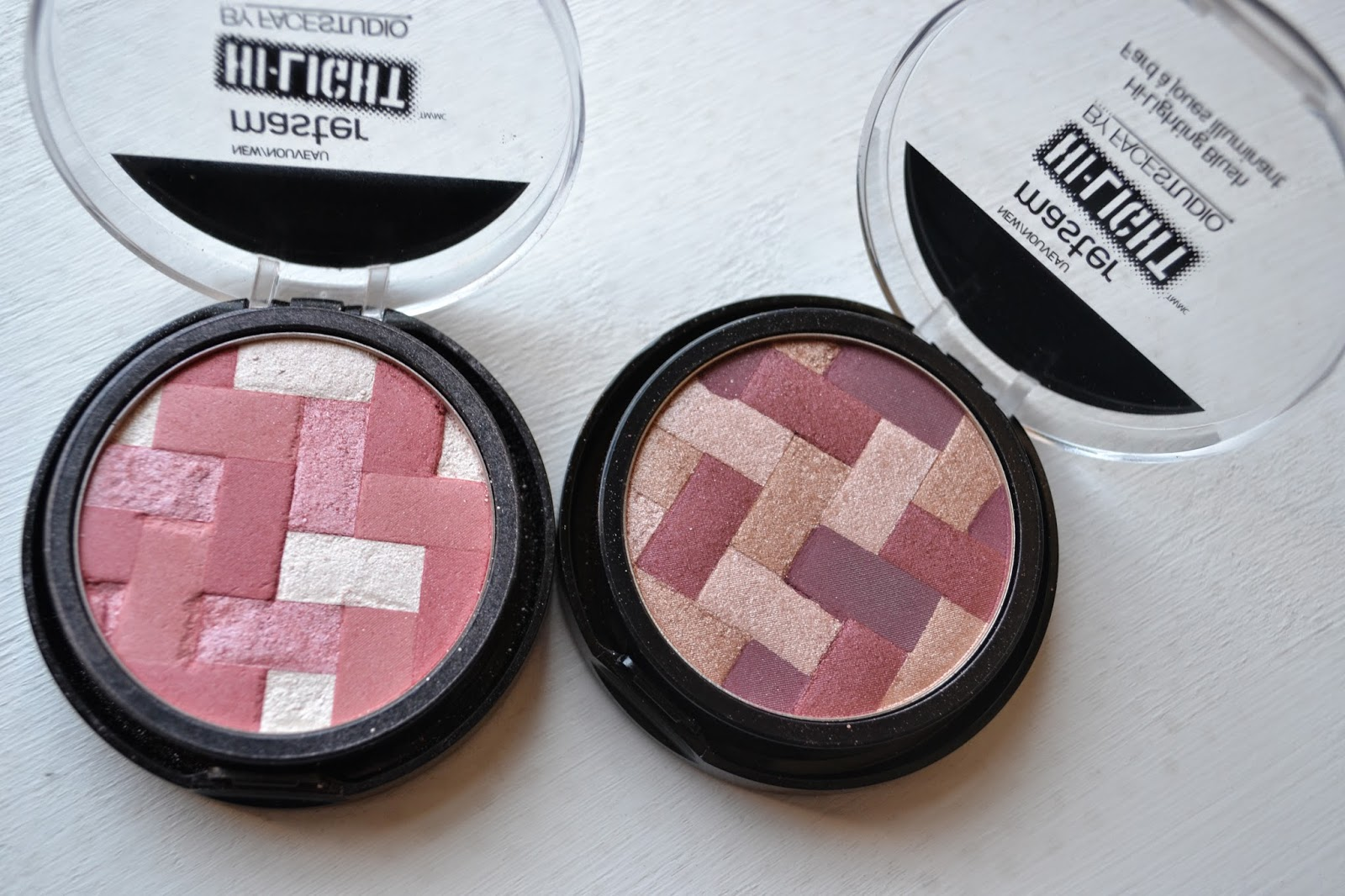 Maybelline New York Face Studio Master Hi-Light blushes