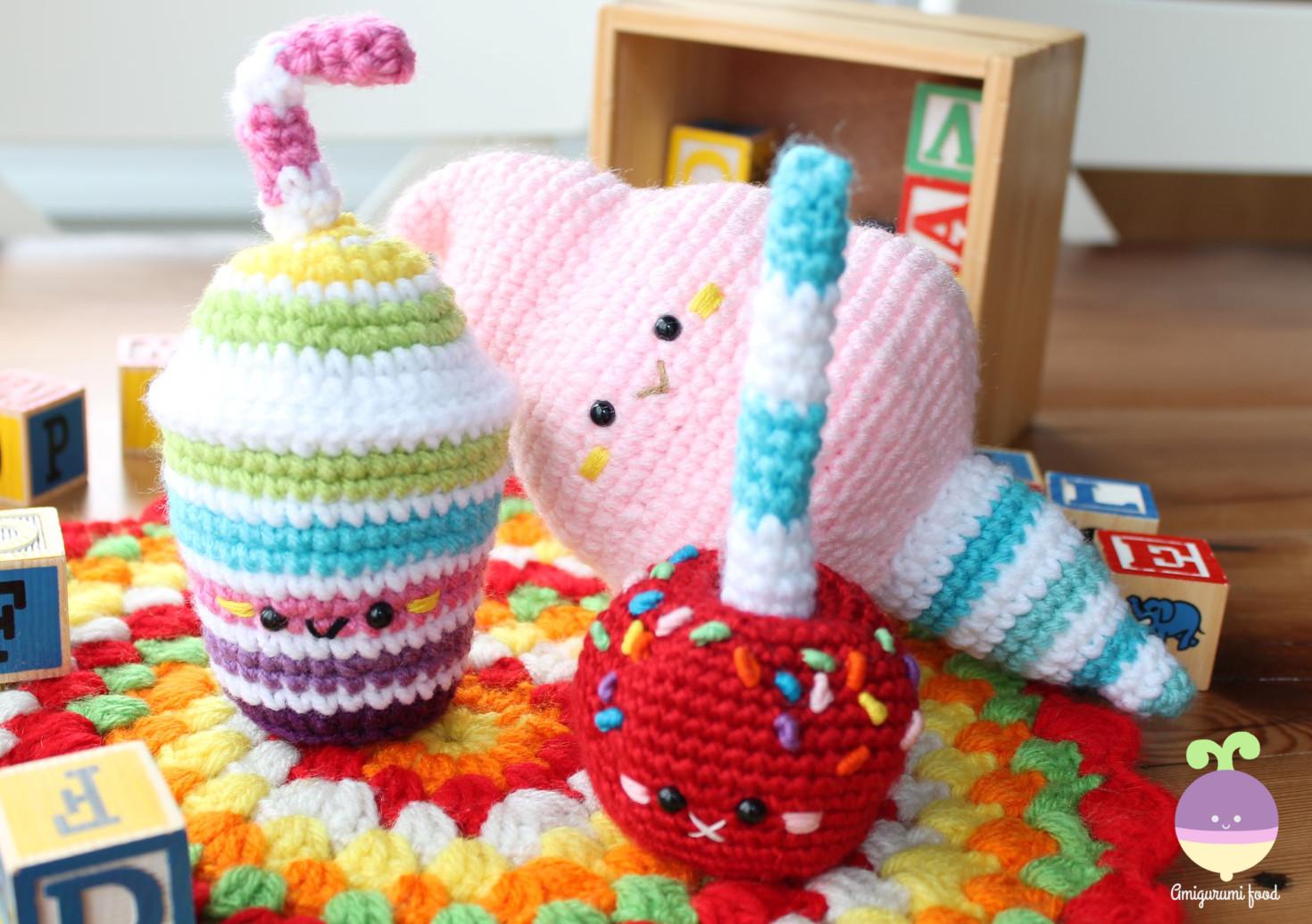 Amigurumi food amigurumi food on etsy carnival party amigurumi food crochet pattern bankloansurffo Choice Image