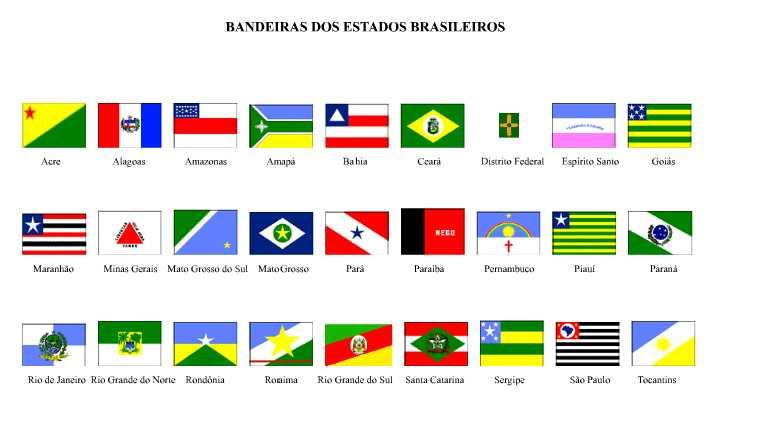 Muitas vezes Fontes de Geografia: Estados e Capitais do Brasil VQ06
