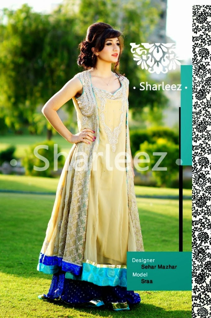 Stylish-Party-Wear-Long-Frocks-2015