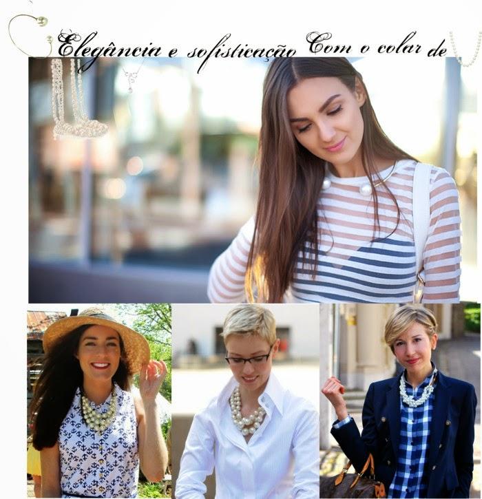 colar-com-perolas-colar-chanel-cabelo-curto-camisa-branca-camisa-xadrez-feminina-chapeu-feminino-moda-perolas-perolas-na-roupa-look-chique-como usar colar de perola-Brincos com Pérolas-Colar Com Pérolas-Anel com Pérolas-Pulseira Com Pérolas Perolas na moda- acessórios da moda-clássicos- onde comprar-moda-elegância-diy