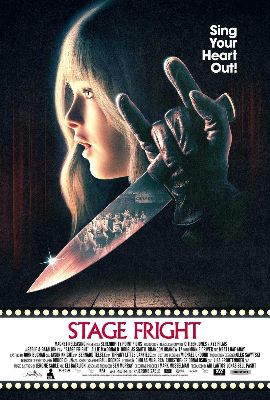 Poster stage fright xlg Baixar Filme Stage Fright Dual Áudio e Dublado (MEGA) Link Direto