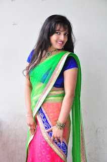 New actress Roshini half saree Picture shoot 028.jpg