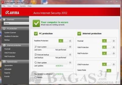 Avira Internet Security 2012 Full License Key 2