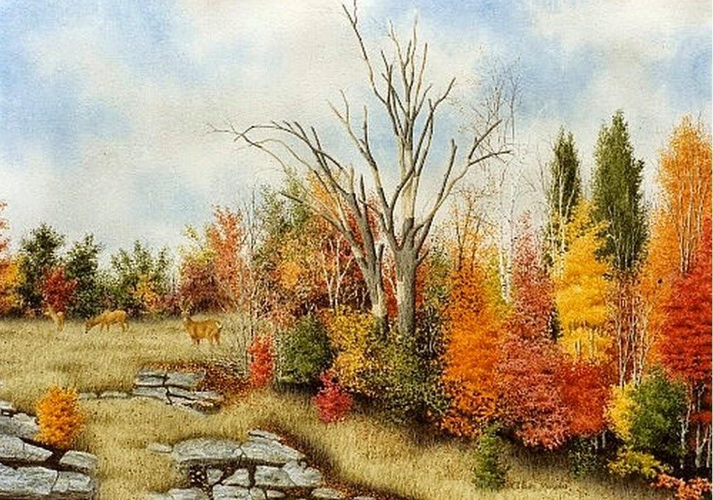 paisajes-naturales-cuadros-en-acuarela