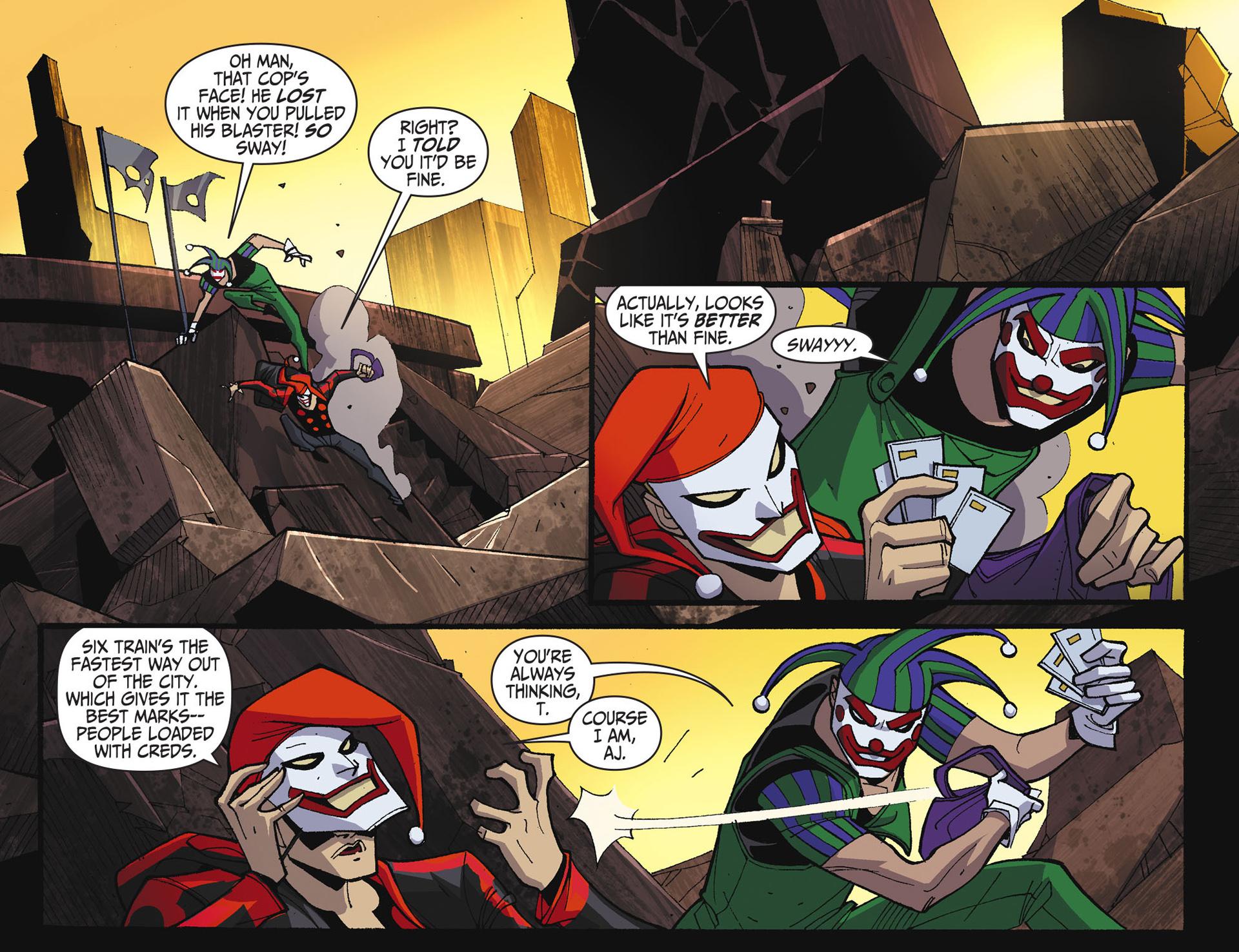 Batman Beyond 2.0 #17 #24 - English 9