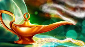 "Relatos ""dados la vuelta"" Aladino"