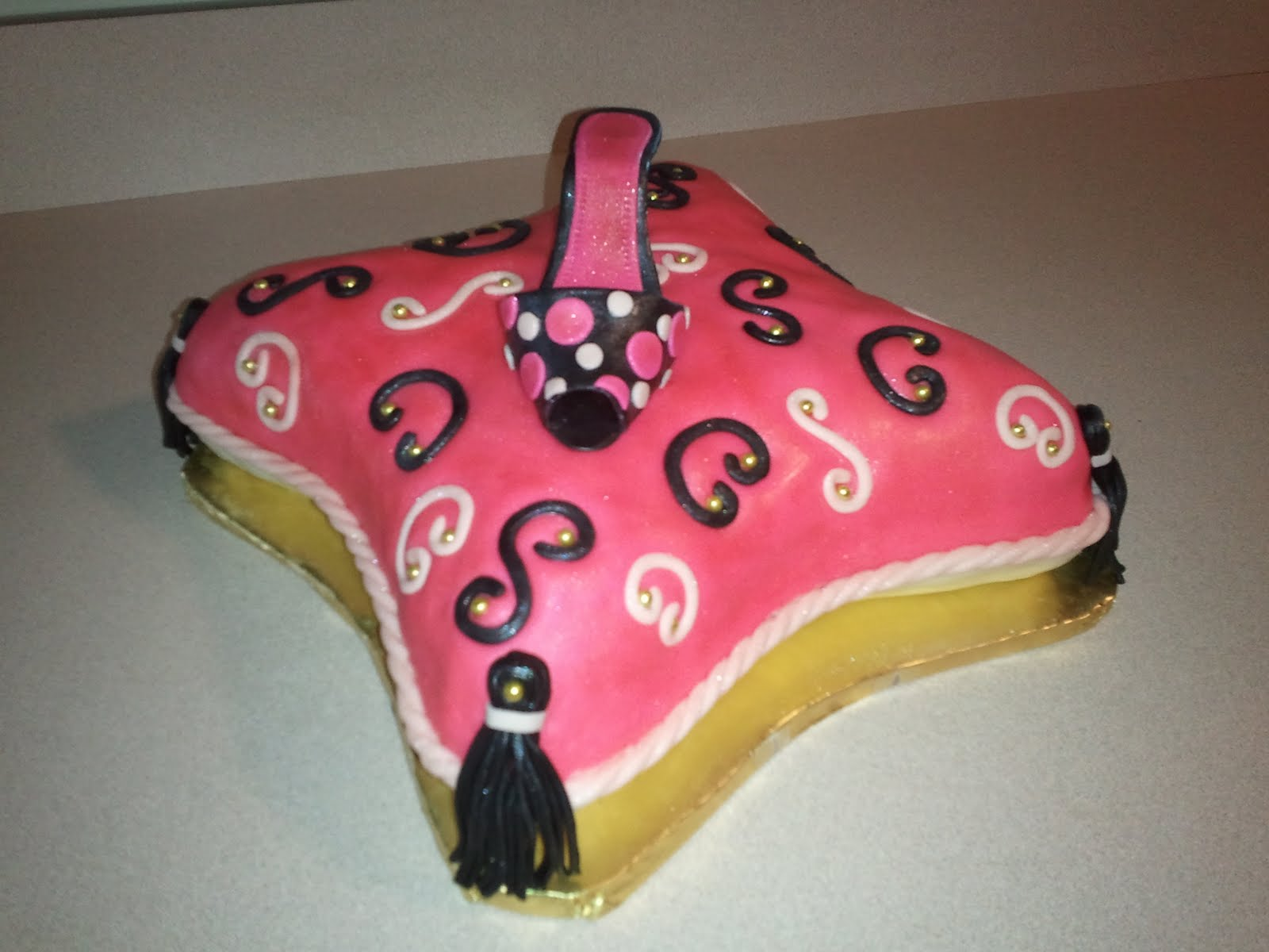 Dessert Divas Kitchen Carries Diva Birthday Cake 2011