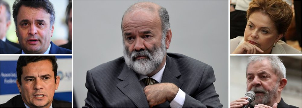 EM TABELA COM MORO, PSDB PEDE A PRISAO DE LULA E DILMA