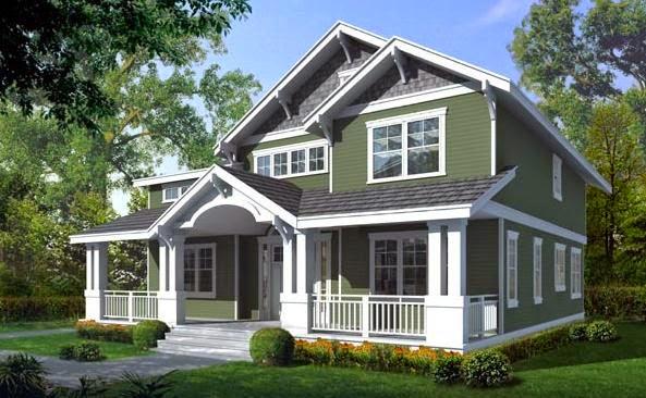 5 gambar desain rumah gaya amerika desain rumah idaman