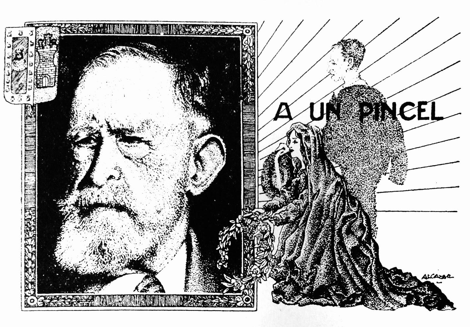 Amador Porres, Alcazar, a un pincel