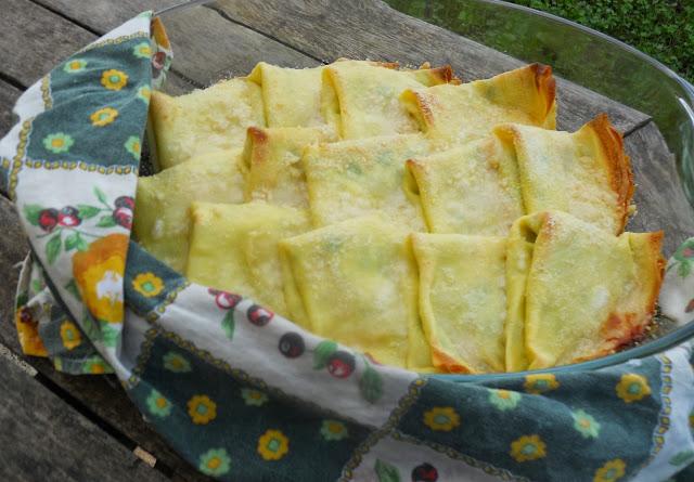 crèpes zucchine e mascarpone