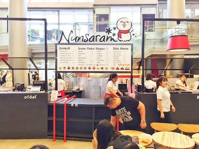 Nunsaram Korean Dessert Cafe at Orchard Central