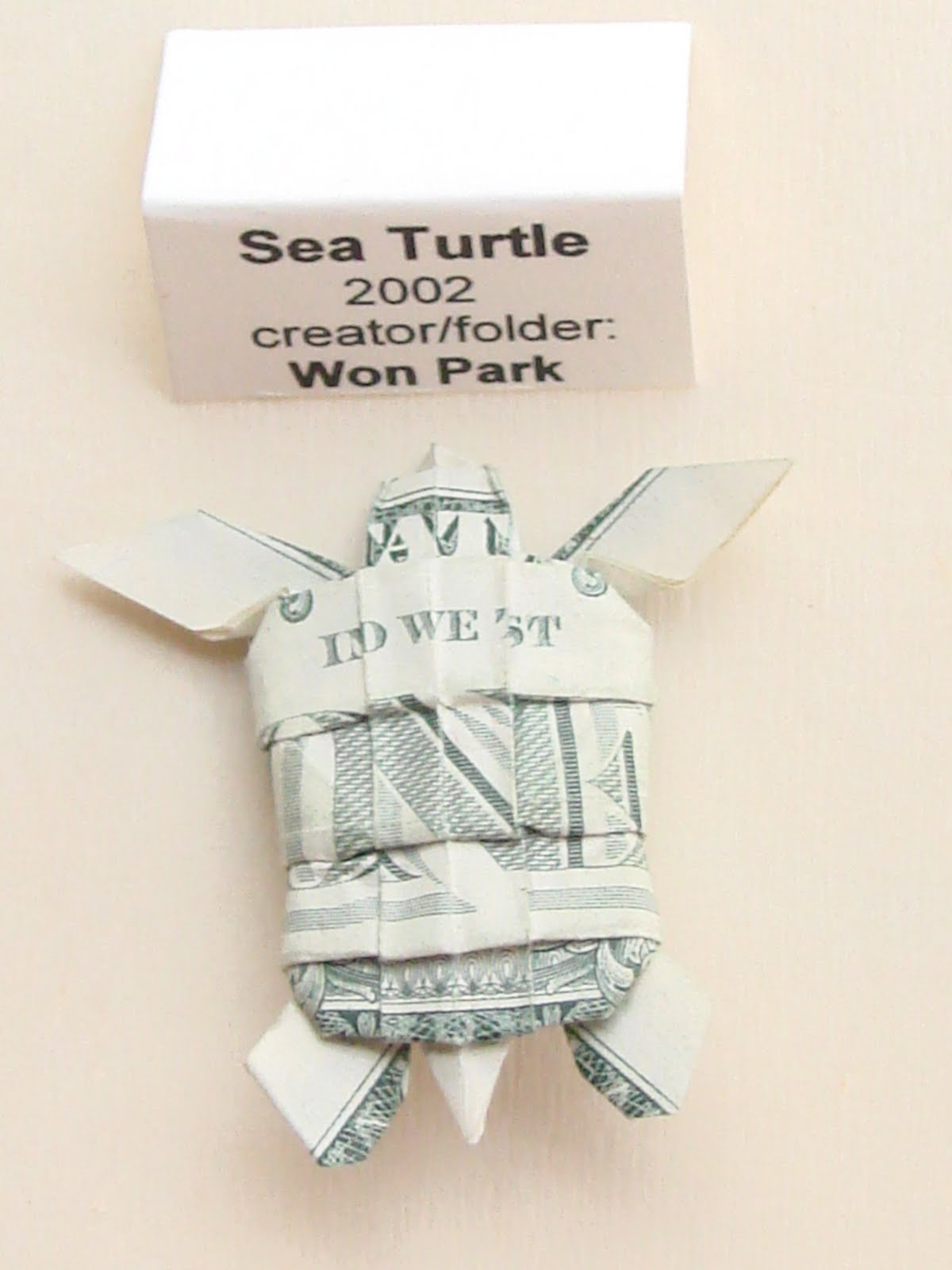 origami sea turtle instructions
