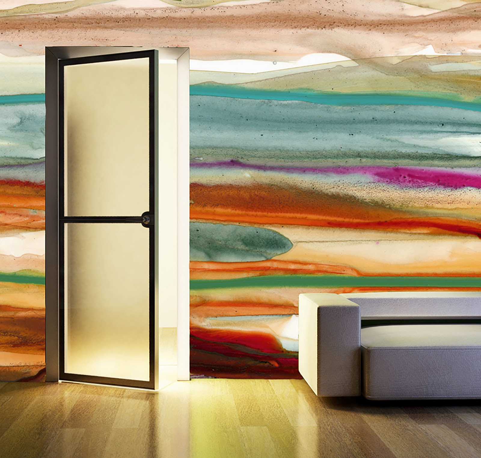 ModDesignGuru - Thinking-Outside-the-Box Design: Watercolor Trends in home design