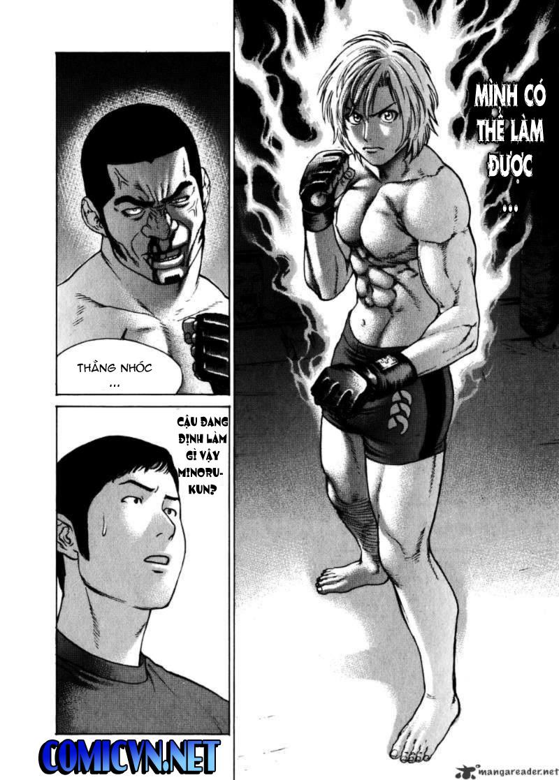 Karate Shoukoushi Kohinata Minoru chap 57 Trang 17