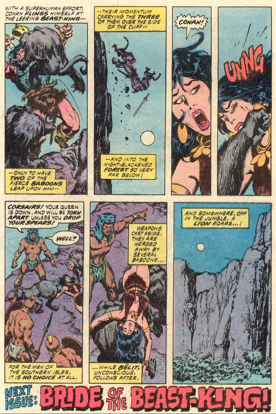 Conan the Barbarian (1970) Issue #94 #106 - English 18