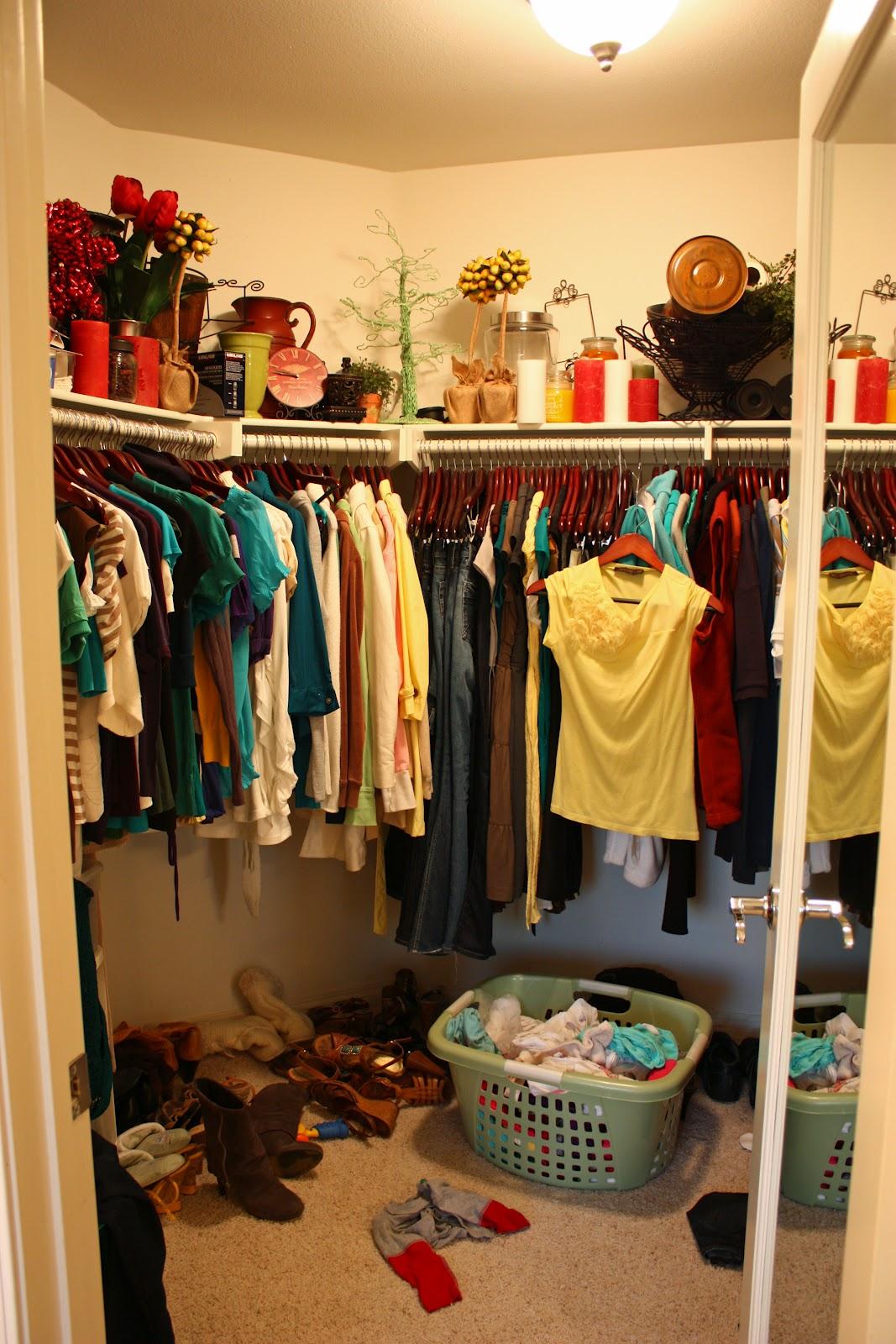 Nice Master Closets Of my master closet redo!