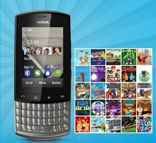 Jogos para Nokia Asha 303 240x320, Asha 305, Asha 200