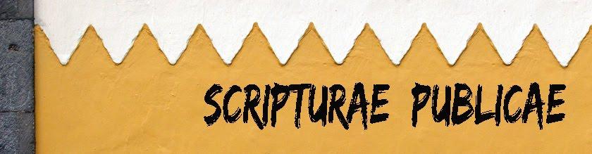 Scripturae publicae