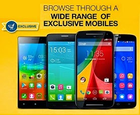 All Exclusive Smart Phones @ One Place starts from Rs.1990 @ Flipkart
