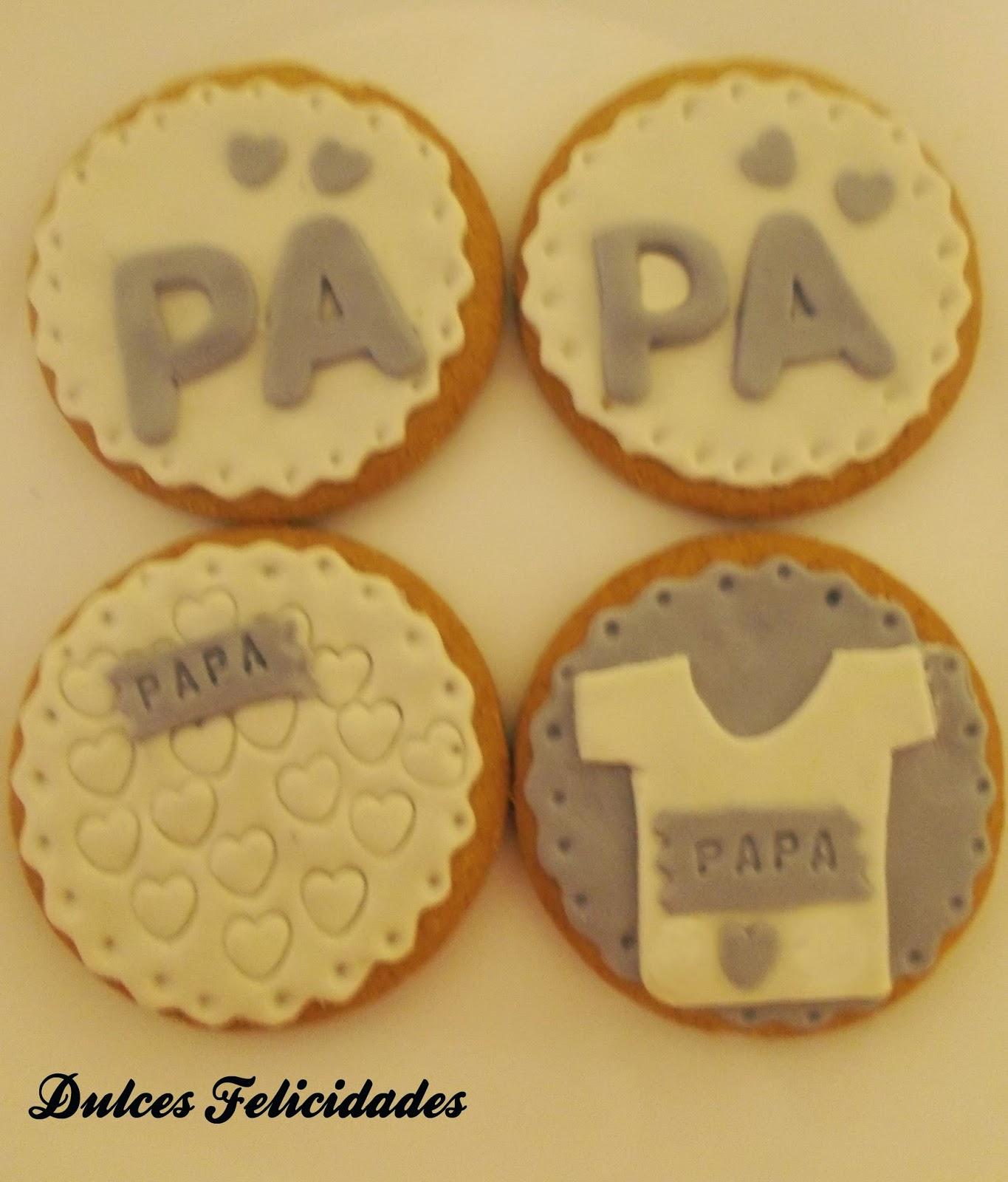 Galletas decoradas para el día del padre