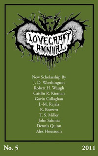 Lovecraft Annual No. 5, 2011, copertina