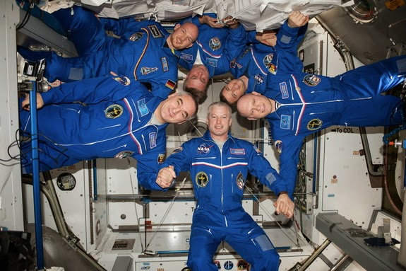 Russian-USA Space Crew Returns to Earth Tonight