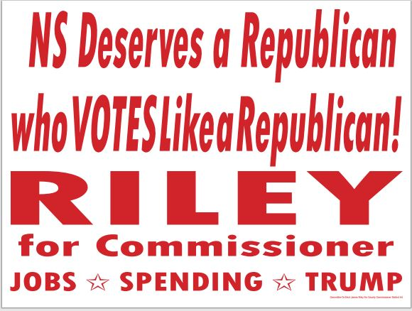 Jim Riley for Muskegon County Commissioner-Norton Shores