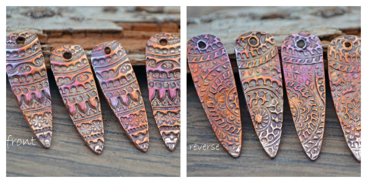 Kristi Bowman Design Tapestry in Copper