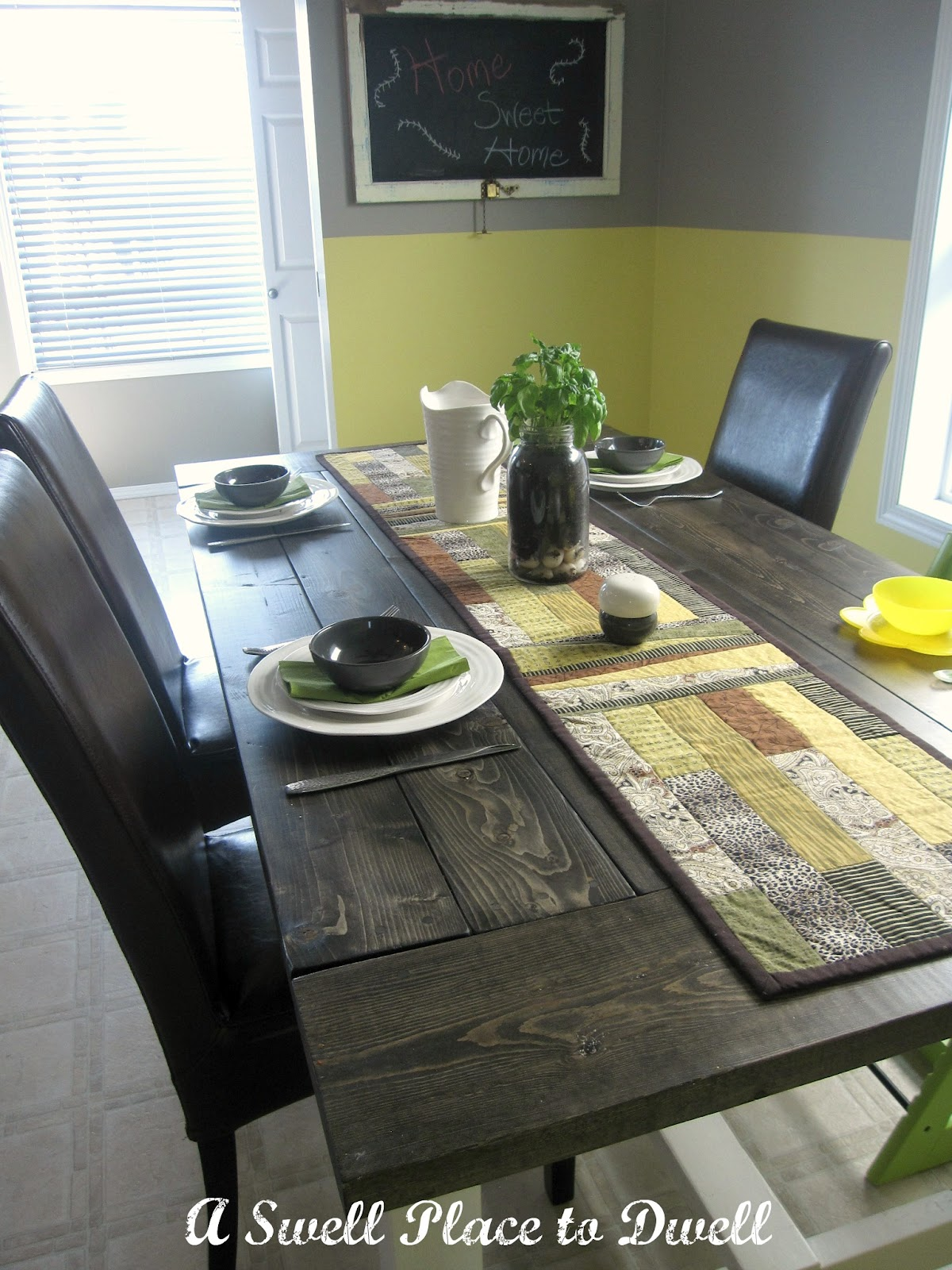 A Swell Place to Dwell DIY Farmhouse Table