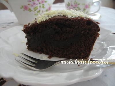 Muhallebisi İle Pişen Kek